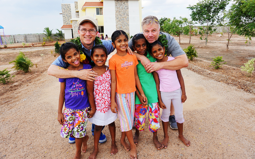 Steve Evers, Jon Dekkers, India, Paul and Molly's Girls