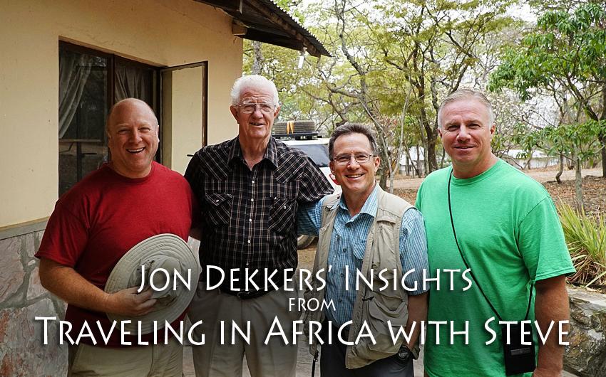 Steve Evers, Trips, Africa, Jon Dekkers