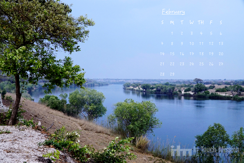 This is a shot of the Zambezi River from Chavuma, Zambia. Steve and ...