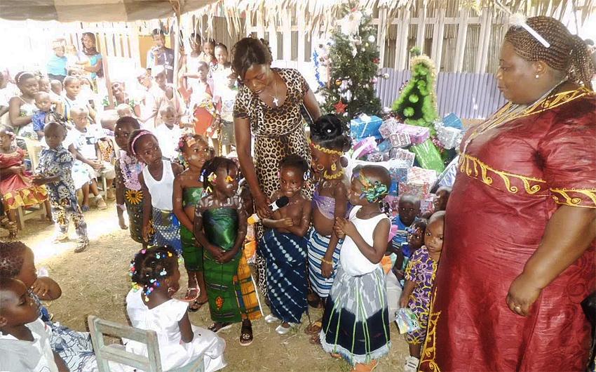 Bread of Life, Ivory Coast, Christmas