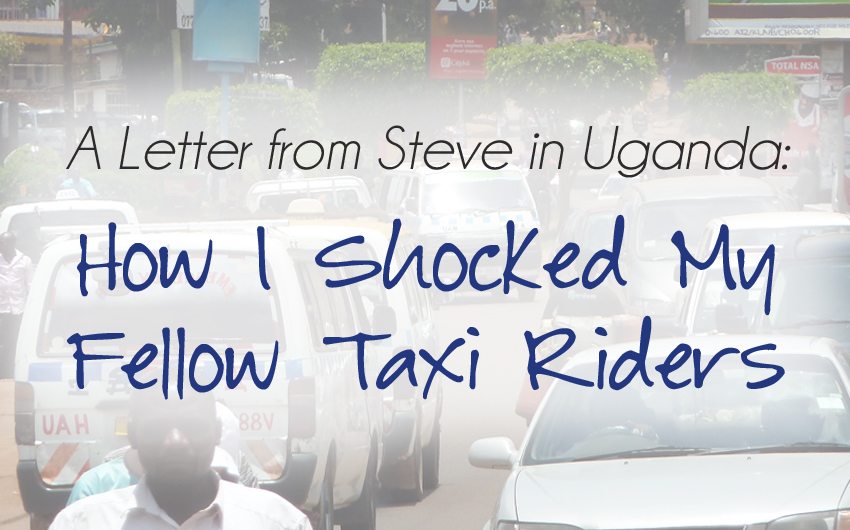 Steve Evers, Uganda, Steve's Travels