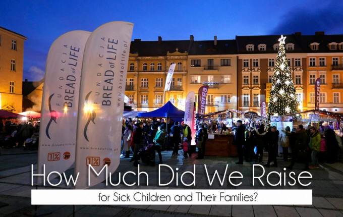 How Much Did We Raise for Sick Children and Their Families?