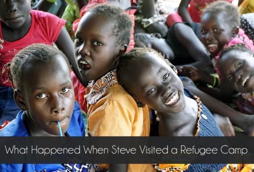 South Sudan, Refugees, Jahim Buli, Steve Evers
