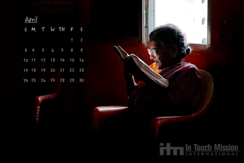 India, Desktop Calendar,  Steve Evers