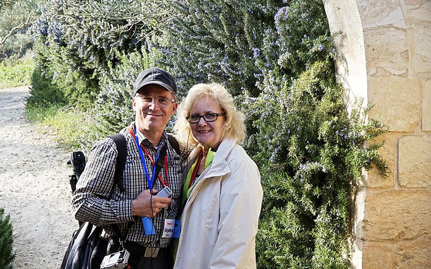 Steve Evers, Israel, Darlene Israel