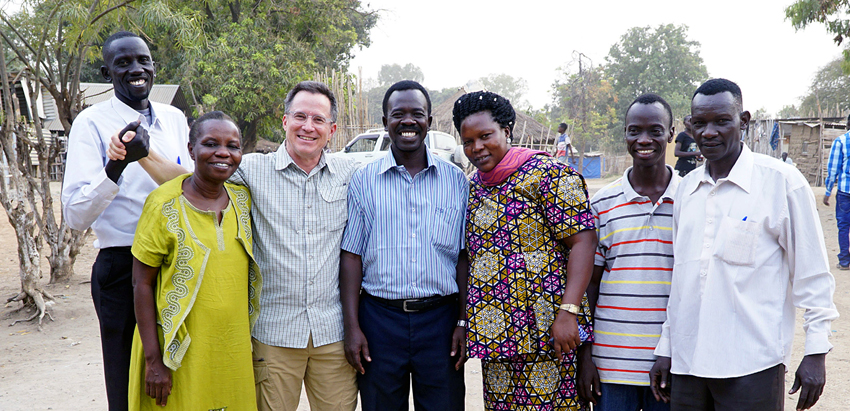 Vicky Waraka, Steve Evers, South Sudan, Church Planting
