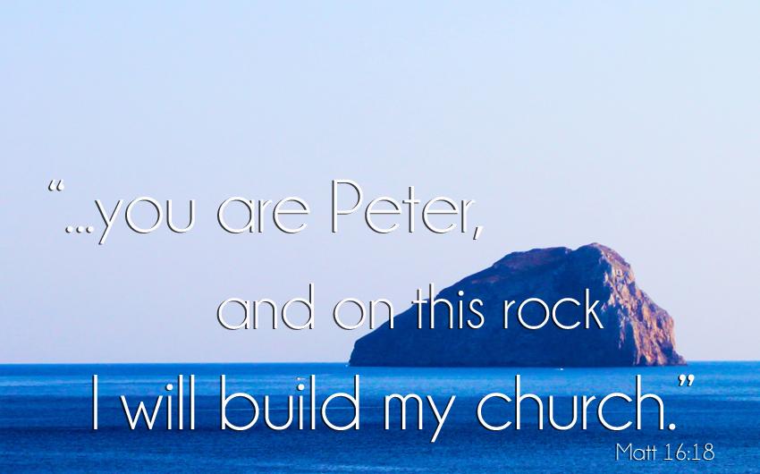Matt 16:18