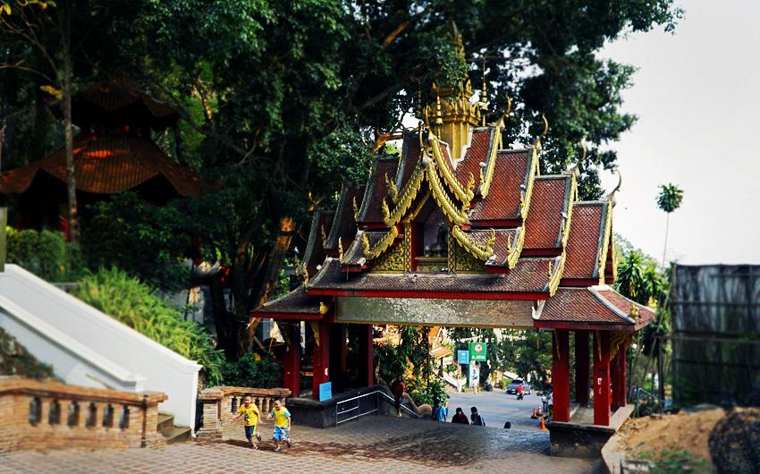 Thailand, Steve Evers, Buddhist Temple