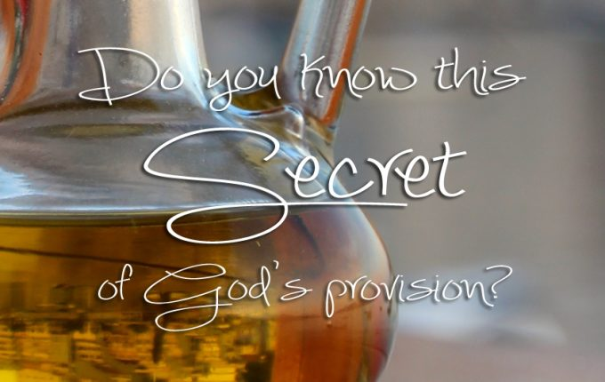 Do You Know This Secret of God's Provision?