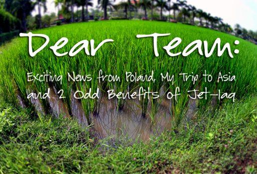 Steve Evers, Dear Team,