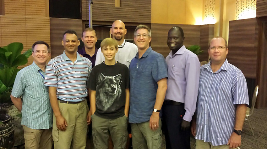 Thailand, Steve Evers, Timothy Keller, Jahim Buli, Charl van Wyk, Kelly Smith