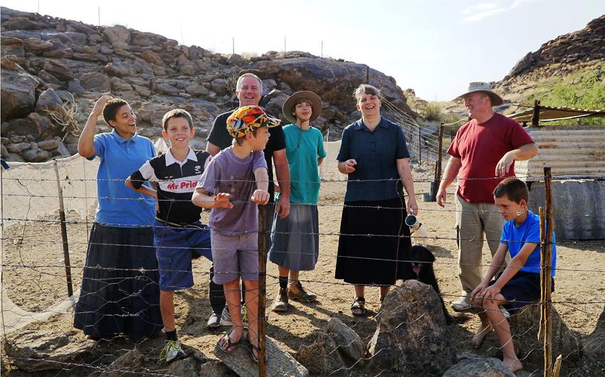 Onseepkans Mission, South Africa, Gerhard le Roux, Elmane le Roux