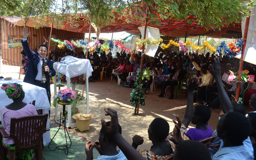 Steve Evers, South Sudan, Revival and Fire Ministries, Vicky Waraka