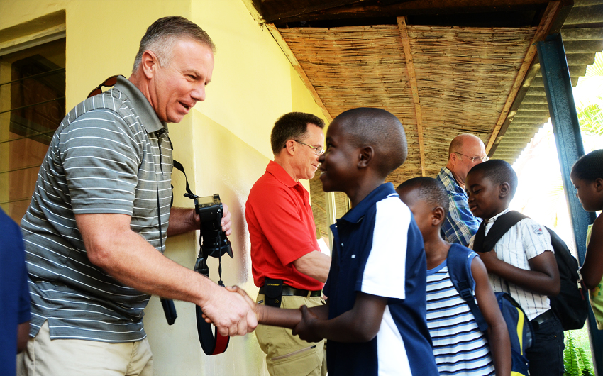 Jon Dekkers, Excellence Christian Academy, Zambia