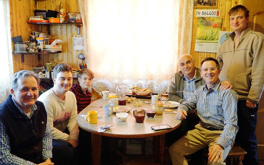 Steve Evers, Andy Ban, Ukraine, Adi Ban, Eduard Ban, John, Ukraine