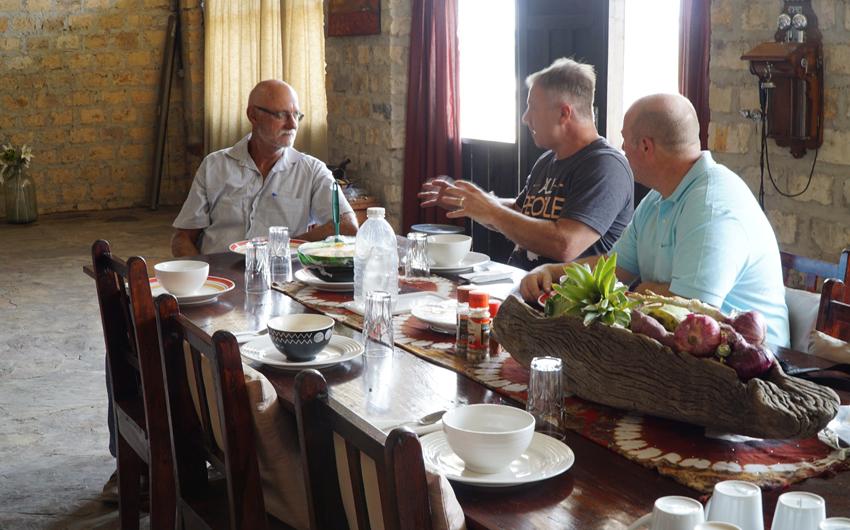 Johan Leach, Jon Dekkers, Steve Lee, Zambia
