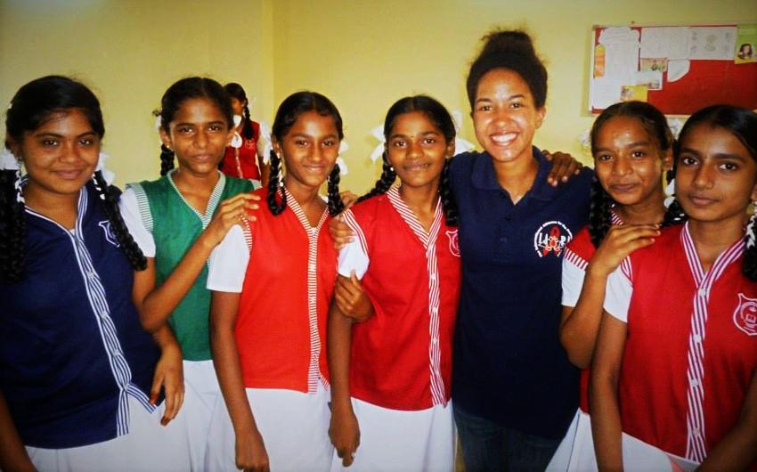 Alycia Walsh, ITMI Staff, India