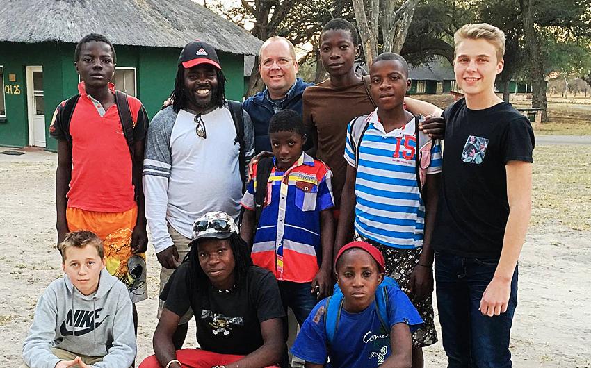Charl van Wyk, Zimbabwe