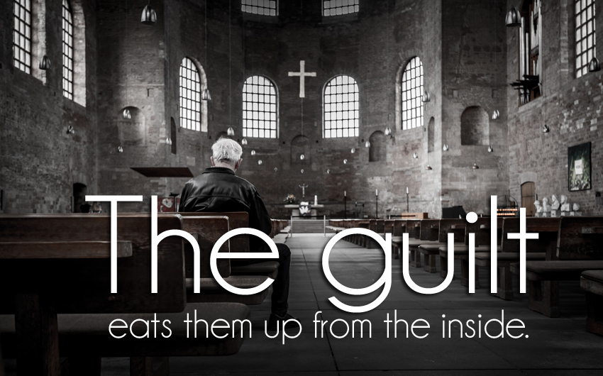 church, guilt