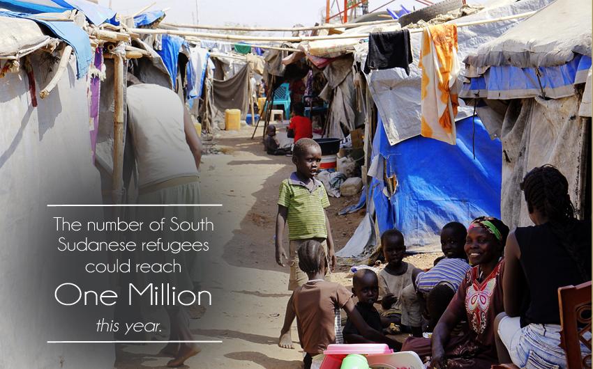South Sudan, Refugees, Jahim Buli