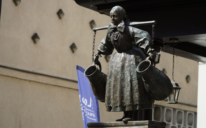 Poland, statue