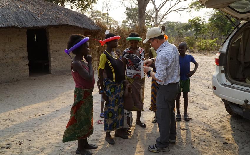 Zambia, Lukulu, Steve Evers