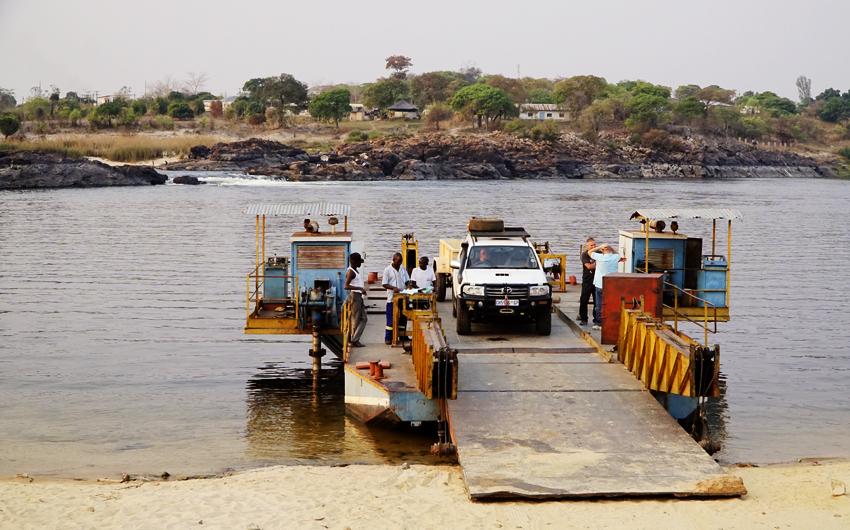 Zambia, Zambezi River