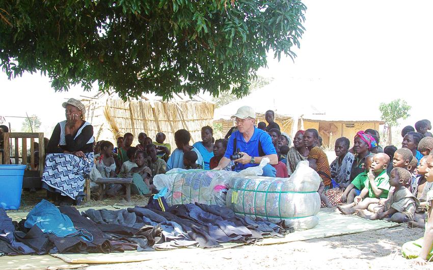 Lukulu, Zambia, Steve Evers,