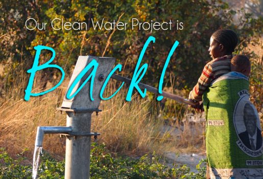 clean water, Zambia