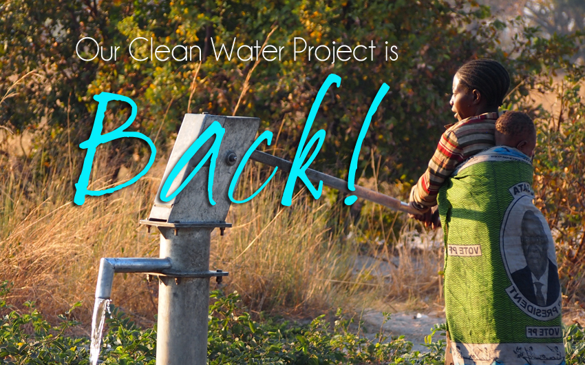 Our Clean Water Project is Back!