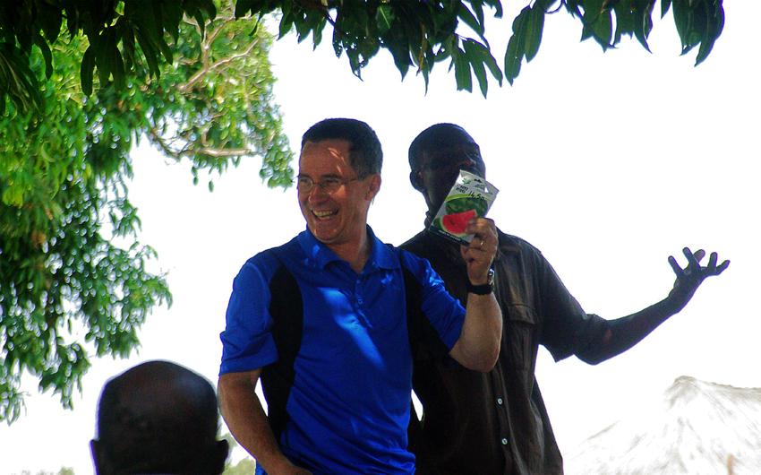 Steve Evers, Lukulu, Zambia