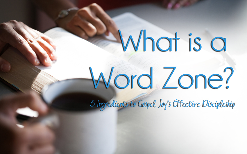 What is a Word Zone? 5 Ingredients to Gospel Joy's Effective Discipleship