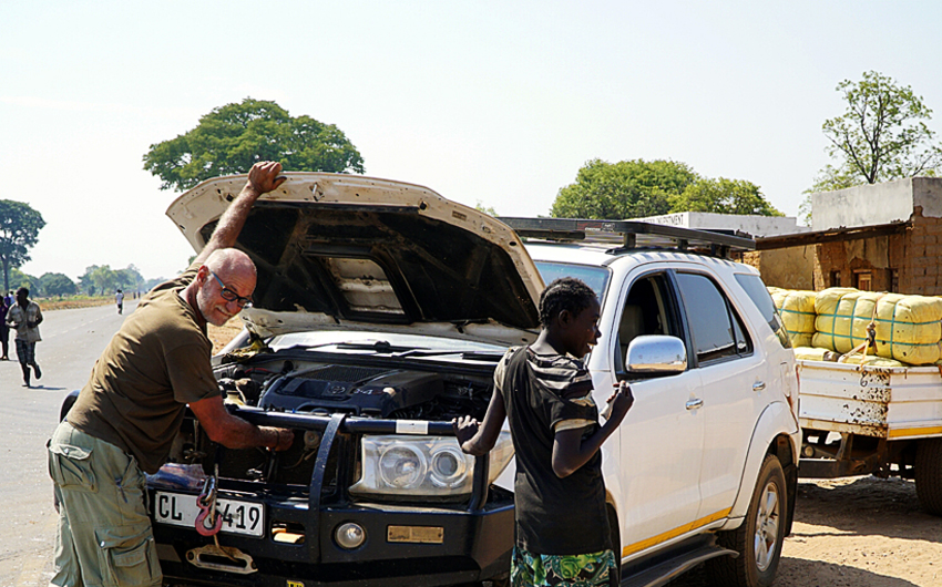 Johan Leach, Steve Evers, Zambia