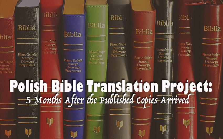 Piotr Zaremba, Poland, Polish Bible Translation