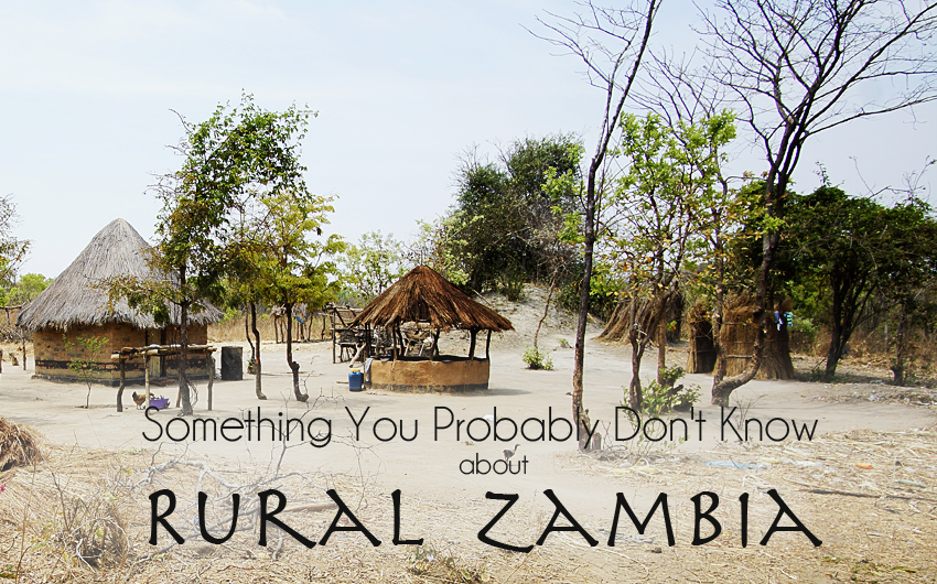 Something You Probably Don't Know About Rural Zambia