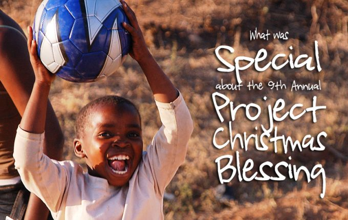 What Was Special About the 9th Annual Project Christmas Blessing