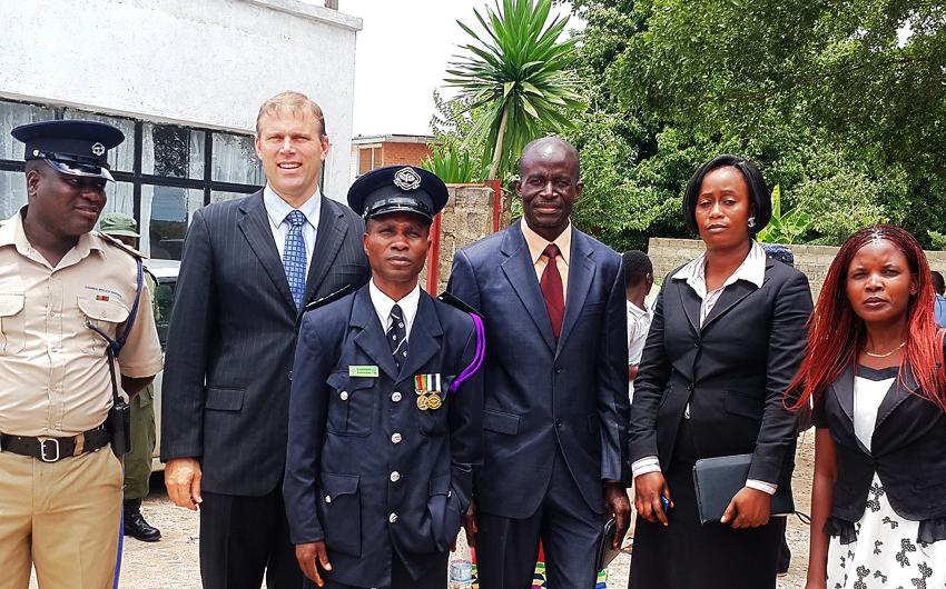 Timothy Keller, Zambia, Police