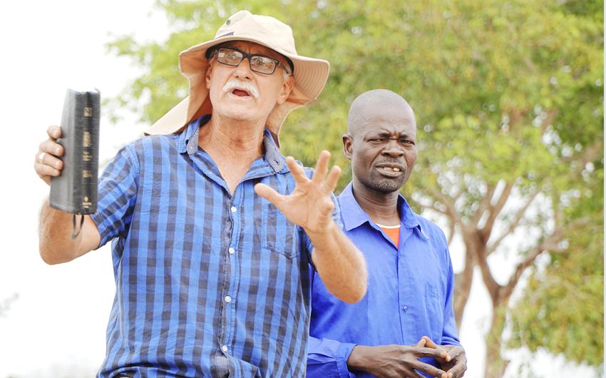 Johan Leach, Zambia
