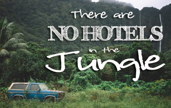 There are No Hotels in the Jungle