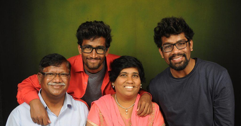 kumar family, india