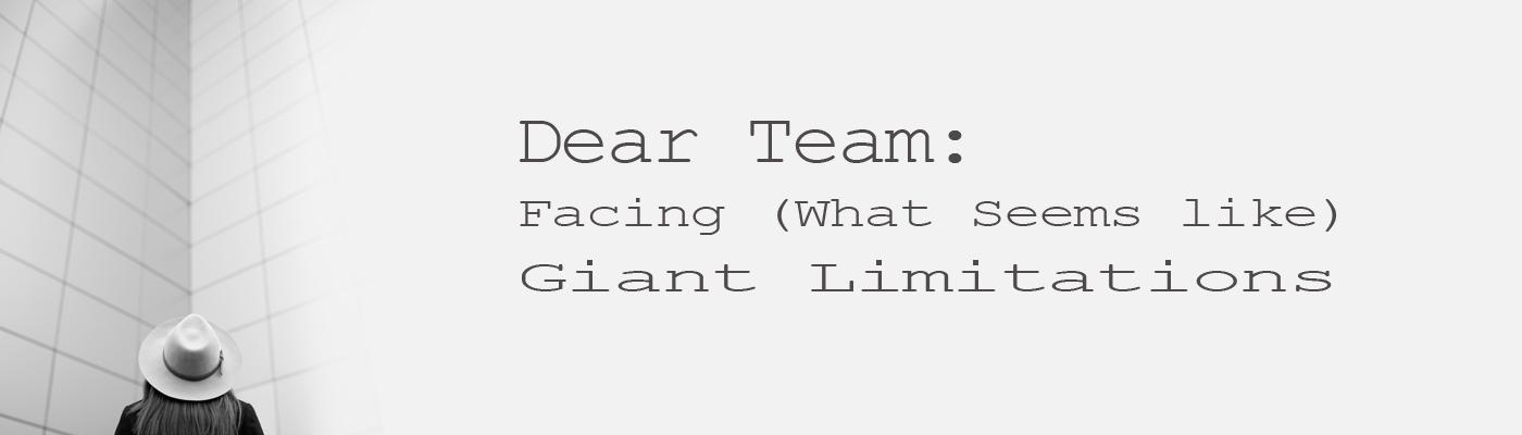 Slider, Steve Evers, Dear Team