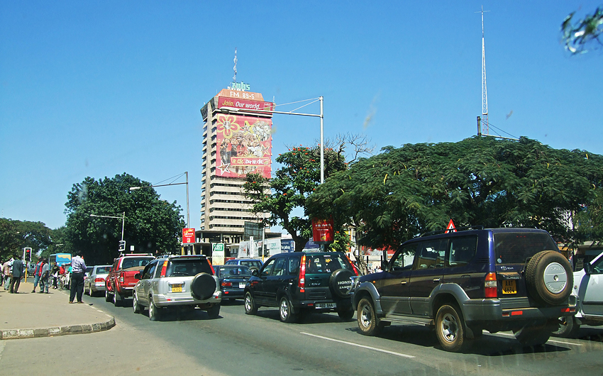 City, Lusaka, African City,