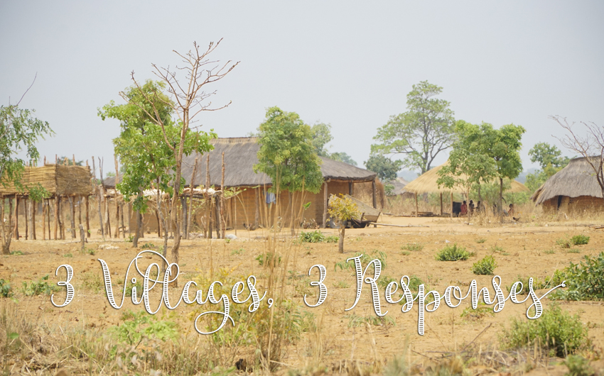 Three Villages, Three Responses