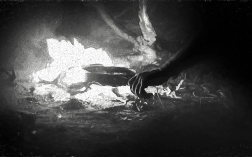 fire pit, Johan Leach, Zambia