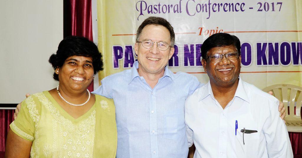 India, David and Taru Kumar, Steve Evers
