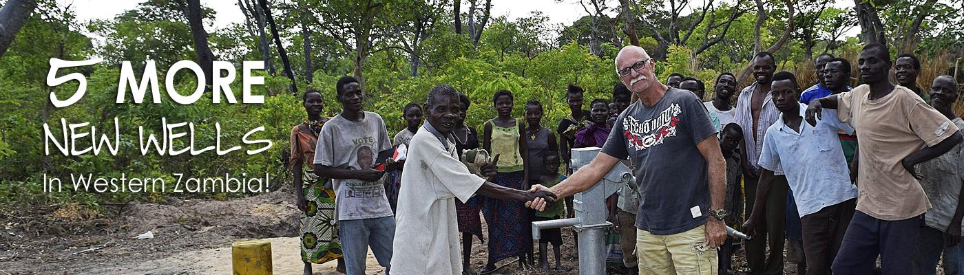 Johan Leach, Zambia, Clean Safe Water, Slider