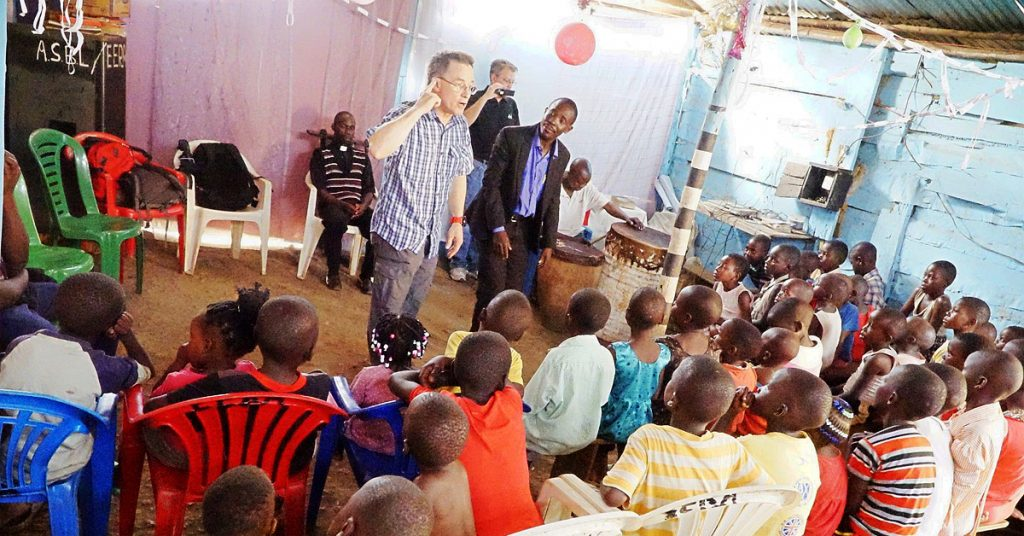 Steve Evers, Muhindo Kawede, International School of Missions, Katooga slum