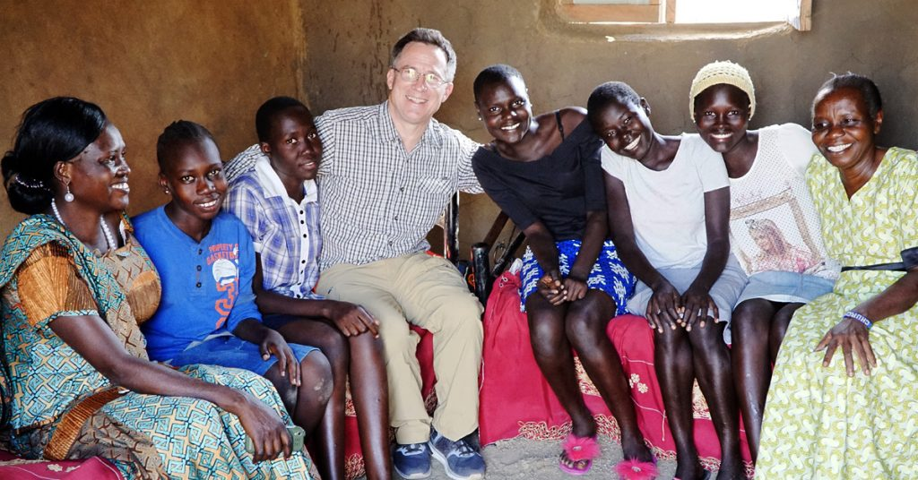 Steve Evers, Vicky Waraka, South Sudan