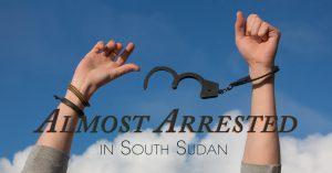 Steve Evers, South Sudan,