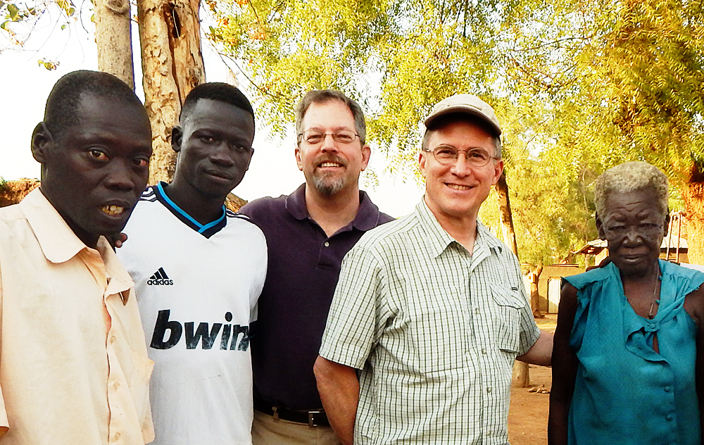 Steve Evers, Kent Reisenauer, South Sudan